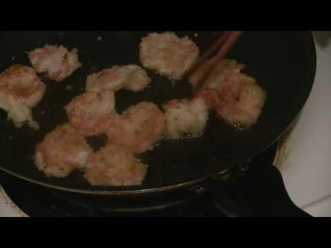 Crispy Grilled Prawns (Shrimp) With Panko Bread Crumbs  (Easy Prawn Recipe)