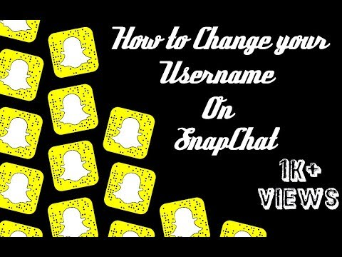 How To Change Your Username of SnapChat | Tutorial Video 2018 in Urdu | Sikandar World