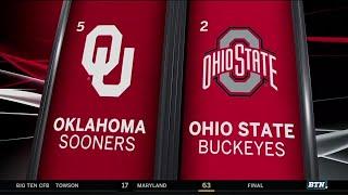 Oklahoma at Ohio State - Football Highlights