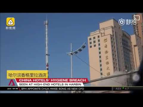 China Hotel Cleaners Use Toilet Brushes To Wash Guests Glass Cups