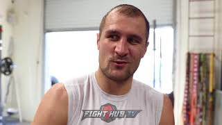 """SERGEY KOVALEV """"OF COURSE GENNADY WON THIS FIGHT! CANELO UNDERSTANDS HE CANT KO GGG!"""""""