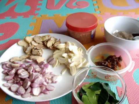 Thai Isaan Food: JAEW BONG (Pla Rah Paste) | JoysThaiFood