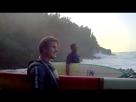 The Key to Getting in at Pe'ahi - Jaws, Maui on Jan 27th 2016
