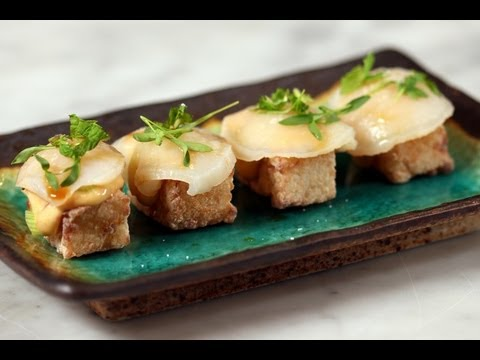 Fried Sushi Cakes With Scallops - Mark Bittman | How To Cook Everything
