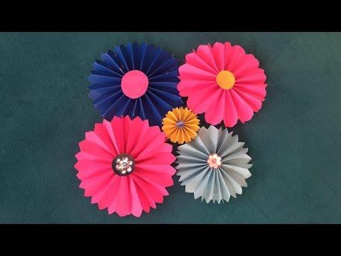 Paper Flowers - DIY