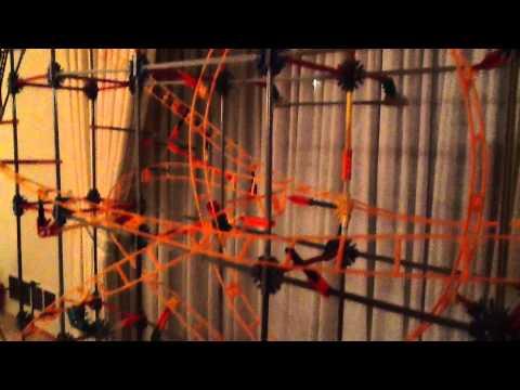 Knex Micro Roller Coaster ADRENALINE Trailer
