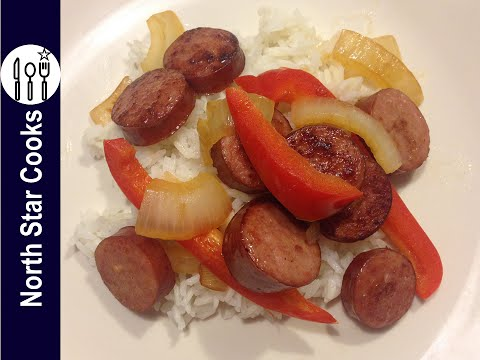 How to Make Sausage Peppers & Onions