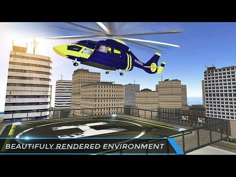 Police Helicopter Games Flight Simulator Rescue (by BrilliantLogic Games) Android Gameplay [HD]
