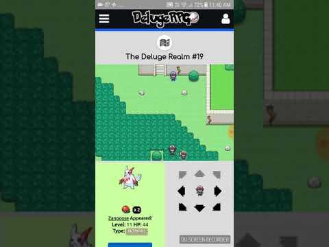 Deluge rpg place for finding legendary pokemon easily