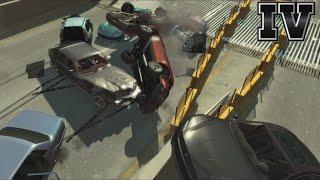 GTA IV - Crashes, Bailouts, Ragdolls & Fails Compilation #59 [1080p]