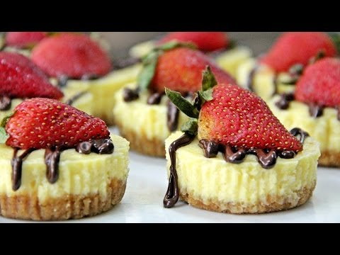 Mini Cheesecake - New York-Style - Recipe by ZaTaYaYummy