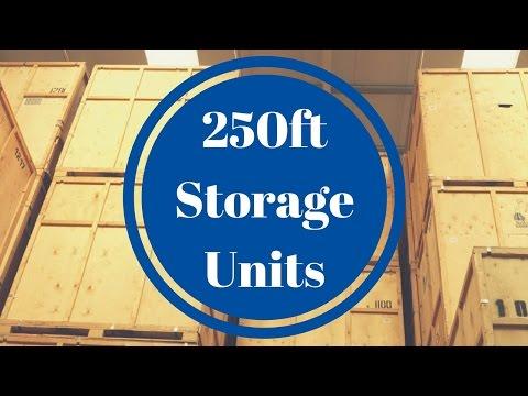 Britannia Movers 250ft Storage Units