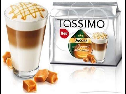 Tassimo for Caramel Macchiato and Expresso for cappuccino and latte macchiato