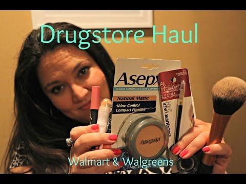 Drugstore Haul - Walmart & Walgreens (show & tell)