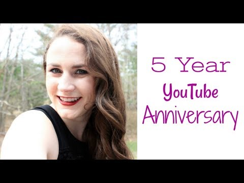 5 YEAR YOUTUBE ANNIVERSARY MONTAGE   Allie Young
