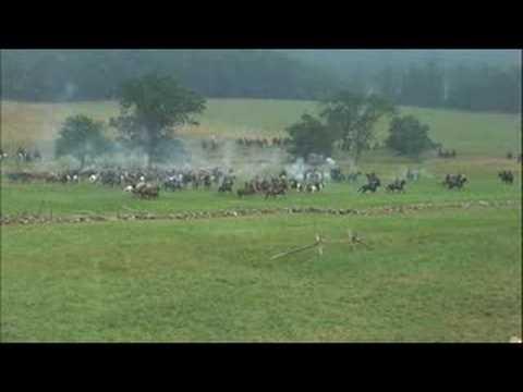 Cavalry Battle Gettysburg Reenactment 2008
