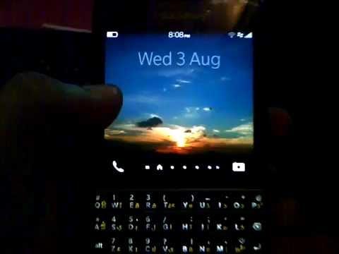 Facebook messenger on Blackberry