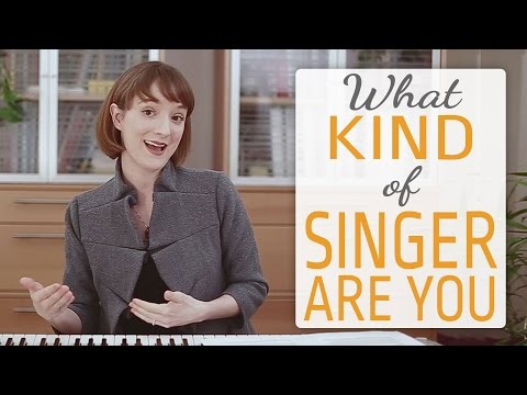 What kind of singer are you? -  4 Categories of Singers