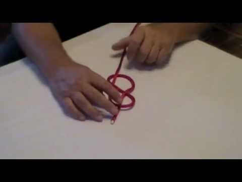 How to tie a Figure 8 Knot & its uses