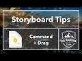 Storyboard Tips - Command Drag (iOS, Xcode 8, Swift 3)