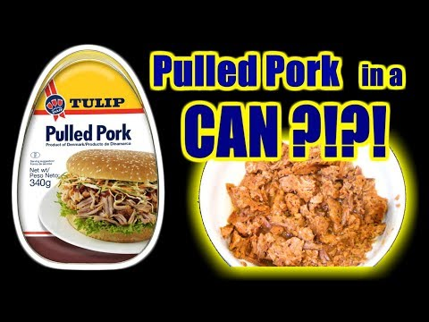Pulled Pork IN A CAN? - Danish Style! - WHAT ARE WE EATING?? - The Wolfe Pit