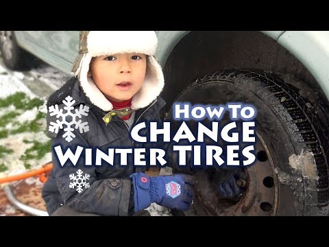 Kids How To - Change winter tires