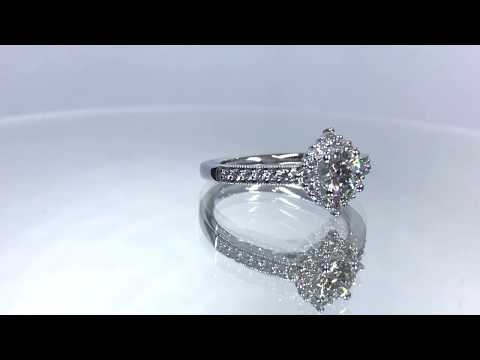 Dalkey 18ct White Gold Diamond Engagement Ring