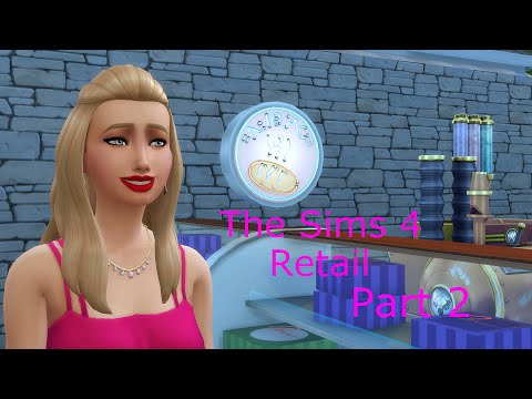 Lets Play: The Sims 4 Retail Part 2: New Employee