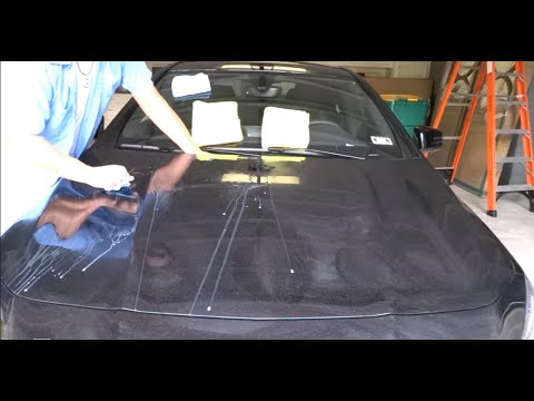 How to remove Epoxy spray paint overspray 2014 Mercedes-Ben