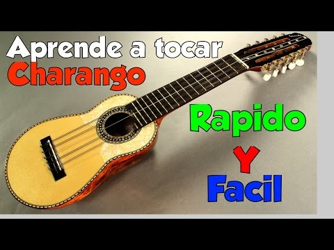 aprende a tocar el charango-rápido y fácil
