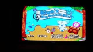 Blue's Clues Blue's Big Musical Movie 2000 DVD Menu Walkthrough