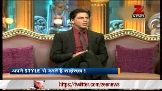 Shah Rukh Khan appears on Anupam Kher
