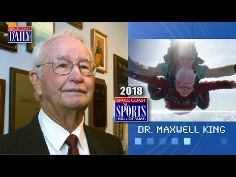 Dr. Maxwell King: 2018 Space Coast Sports Hall of Fame