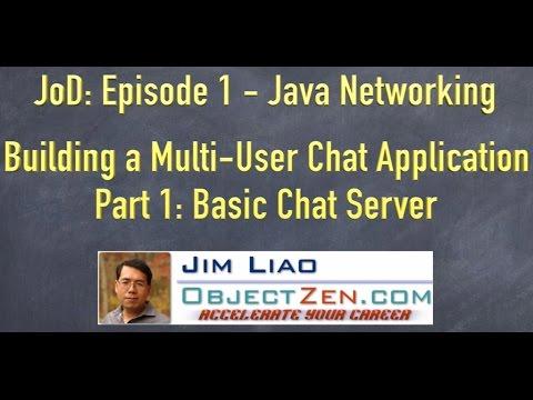 JoD Ep1: Building a Multi-User Chat Application in Java - Part 1: ServerSocket