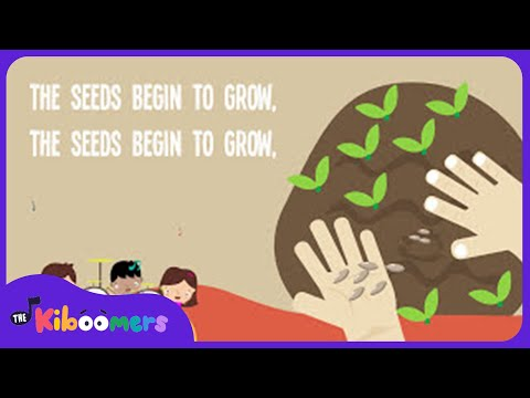 Farmer Plants the Seeds | Kids Song | Song Lyrics | Nursery Rhymes | Farming