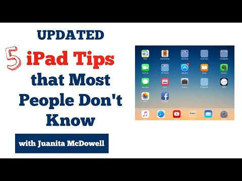 Updated - 5 iPad Tips Most Users Don't Know