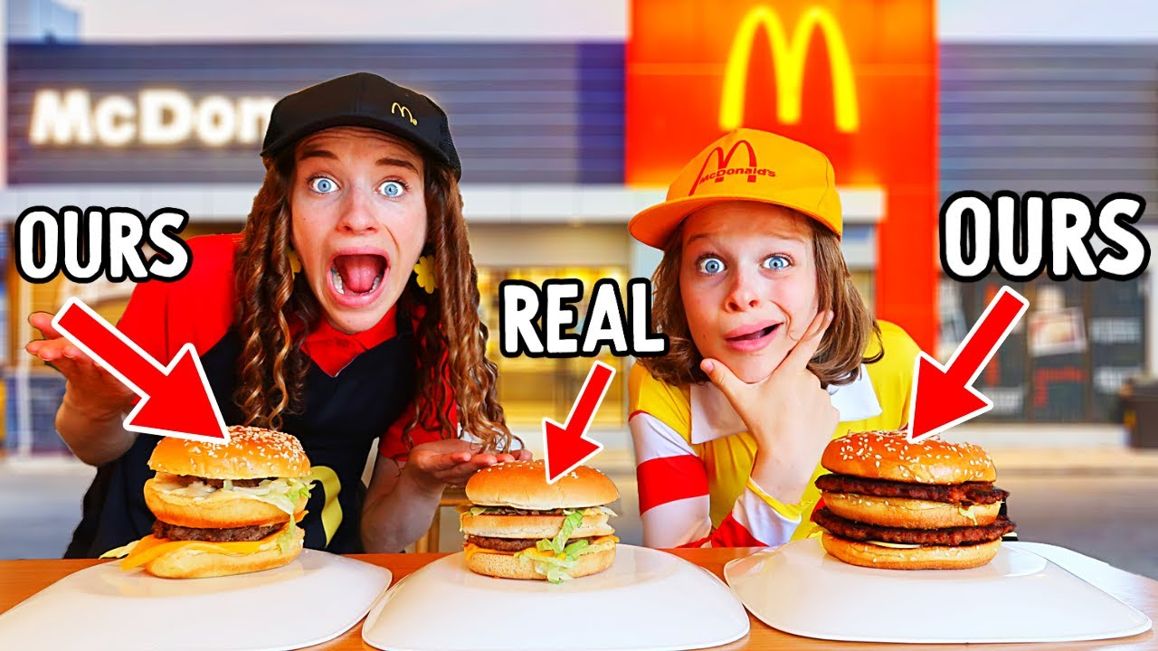 WE MADE MCDONALDS AT HOME w/The Norris Nuts