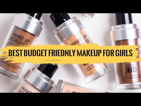 THE BEST BUDGET FRIENDLY MAKEUP FOR GIRLS