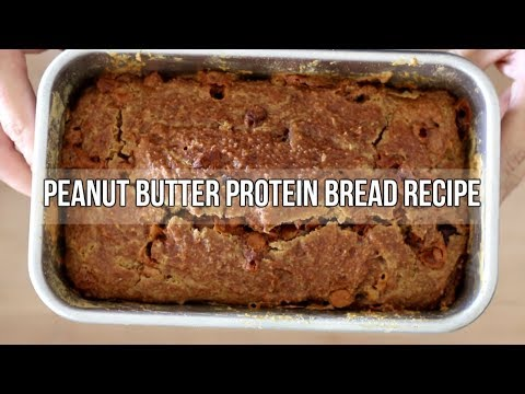 Peanut Butter Protein Bread With Butterscotch And Chocolate Chips