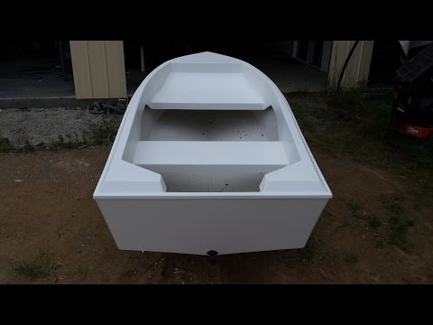 Fibreglass Boat Building from Mold - Completion