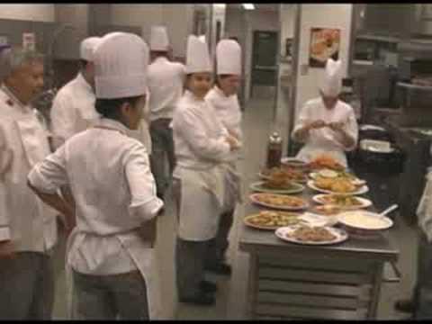 Chef school class - chinese food taste test