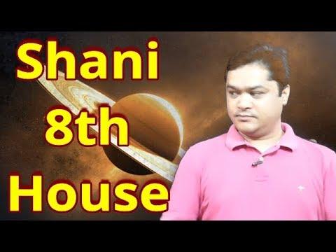 Shani 8th house#Shani Eighth ghar#shani Eighth bhaw mein