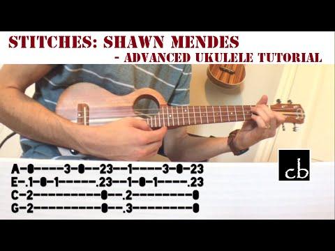 Stitches (Shawn Mendes) Advanced Finger-picking Ukulele Tutorial