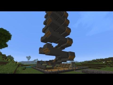Minecraft Spiral Potato Tower