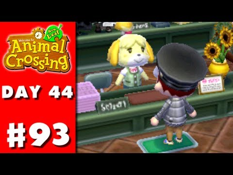 Animal Crossing: New Leaf - Part 93 - Perfect Town! (Nintendo 3DS Gameplay Walkthrough Day 44)
