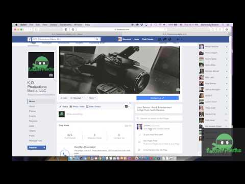 How to Post (as a Facebook Page Admin)