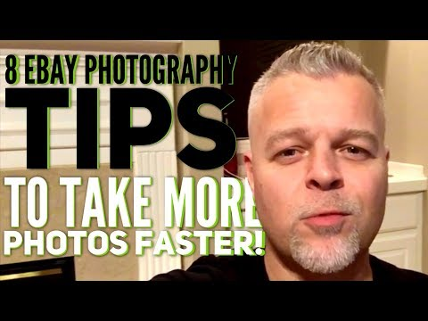8 eBay PHOTO TIPS for Taking MORE Pictures FASTER ~ Increase eBay Sales ~ EBAY PHOTOGRAPHY