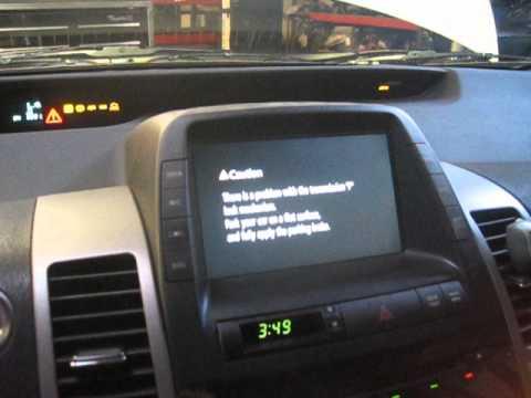 Gen 2 Prius bad 12v battery - symptoms