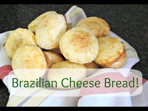 Brazilian Cheese Bread Recipe - Pao de queijo (Gluten Free & Easy)