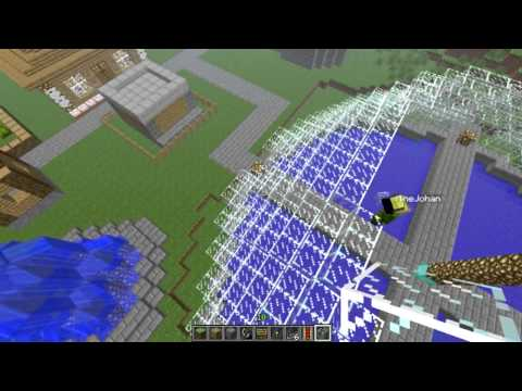 Minecraft Multiplayer: Buildcraft - The Making of a Spawn point Part 1 - the